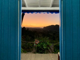 Sunset at Finca